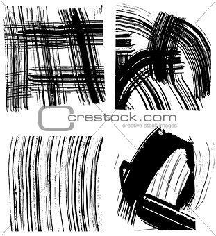 Abstract vector graphic background
