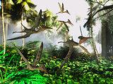 Pterodactylus Flying Reptiles