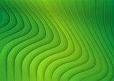 Green Striped 3D Texture