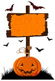 Halloween Wooden Sign