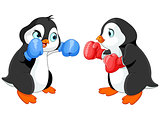 Penguin Boxing