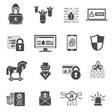 Internet Security Icon Set