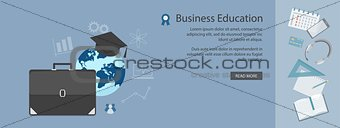 flat  elements of business education