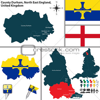 County Durham, North East England, UK
