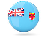Round icon with flag of fiji