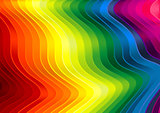 Rainbow Striped Texture