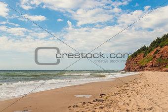 Beach at Basin Head