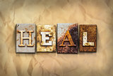 Heal Concept Rusted Metal Type