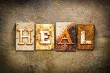 Heal Concept Letterpress Leather Theme