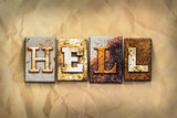 Hell Concept Rusted Metal Type