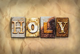 Holy Concept Rusted Metal Type