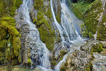 Amazing view of Krushuna Waterfalls, near the city of Lovech