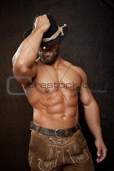 bavarian muscle man