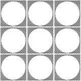 Design seamless monochrome ellipse pattern