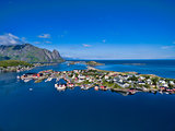 Norwegian coast Lofoten