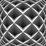 Design monochrome diamond geometric pattern
