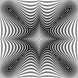 Design monochrome symmetric dots background
