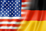 USA and Germany flag