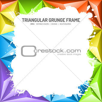 Abstract Mosaic Frame