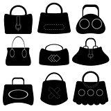 Handbags Silhouettes