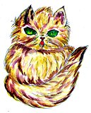 Persian Cat Sketch