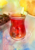 Delicious Turkish tea