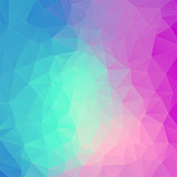 Polygonal background for web design