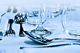 Tableware closeup
