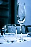 Tableware closeup