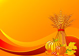 Thanksgiving / harvest background
