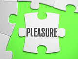 Pleasure - Jigsaw Puzzle with Missing Pieces.
