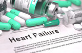 Heart Failure Diagnosis. Medical Concept.