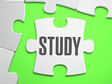 Study - Jigsaw Puzzle with Missing Pieces.