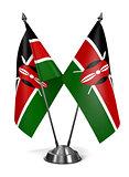 Kenya - Miniature Flags.