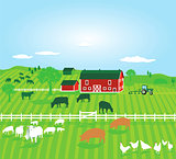 Agriculture with Farm animals