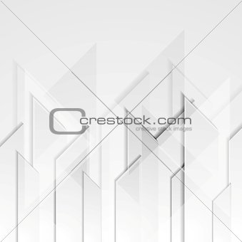 Abstract grey tech geometric  background