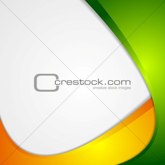 Abstract wavy corporate modern background