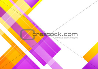 Abstract geometric bright background template for your design