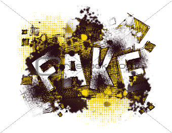art concept. vector background