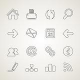 Web outline icon3