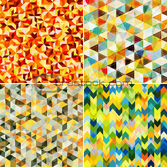 Abstract Mosaic Patterns