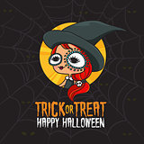Halloween Trick or Treat Witch Costume