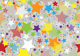 Colored Stars Texture
