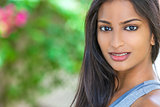 Beautiful Indian Asian Young Woman Girl