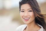 Beautiful Chinese Asian Young Woman Girl