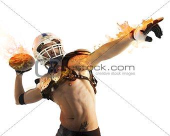 Football fireball
