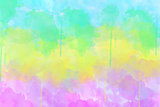 Multi-coloured spot, watercolour abstract background
