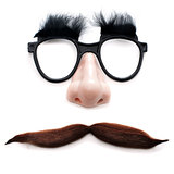 man with glasses and mustache