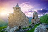 Mediaeval Church in mountains