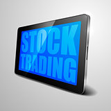 tablet Stock Trading